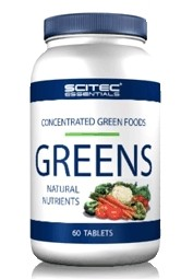 Greens natural nutrients