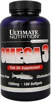 Ultimate Nutrition Omega-3 1000 mg