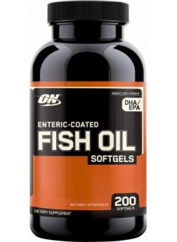 Optimum Nutrition Fish Oil Softgels 200 капс.