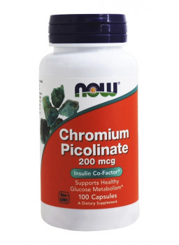 NOW Chromium Picolinate 200 mcg.