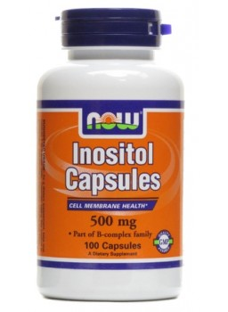 NOW Inositol 500 mg 100 капс.