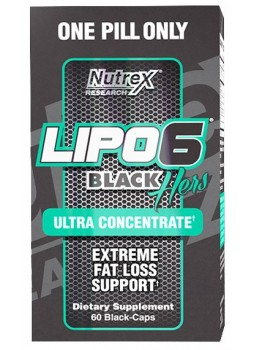 Nutrex Lipo-6 Black Hers Ultra Concentrate NEW