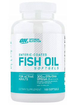 Optimum Nutrition Fish Oil Softgels 100 капс.