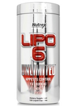 Nutrex Lipo-6 Unlimited NEW