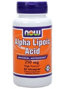 NOW Alpha Lipoic Acid 250 мг.
