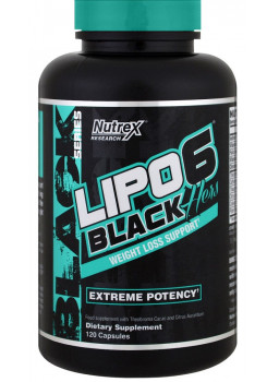 Nutrex Lipo-6 Black Hers NEW