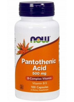 NOW Pantothenic Acid 500 mg.