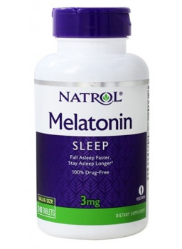 Natrol Melatonin 3 mg 240 таб