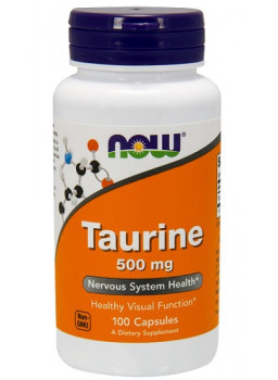 NOW Taurine 500 mg