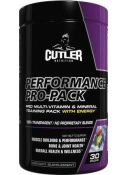 Cutler Nutrition Performance Pro-Pack