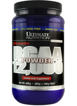 Ultimate Nutrition BCAA Powder 12000 400 гр.