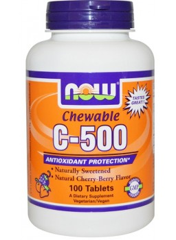 NOW C-500 Chewable