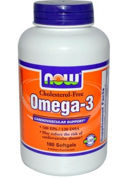 NOW Omega-3 1000mg. choles Free