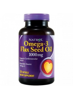 Natrol Omega-3 Flaxseed Oil 1000 mg