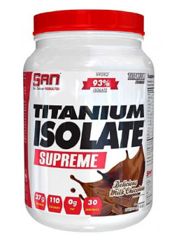 SAN Titanium Isolate Supreme