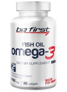 Be First Omega-3 fish Oil+Vitamin E
