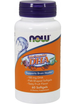 NOW DHA Chewable 100mg