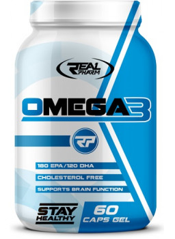 Real Pharm Omega 3 1000 mg.