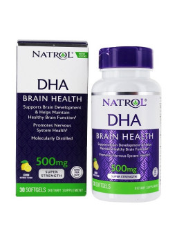 DHA 500mg SupeDHA 500mg Super Strength