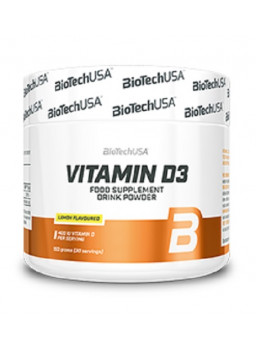 BioTech USA Vitamin D3  150 гр