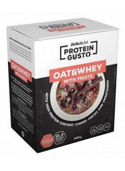 Protein gusto oat&whey with fruits