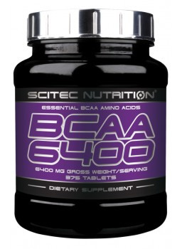 Scitec Nutrition BCAA 6400 375 таб.