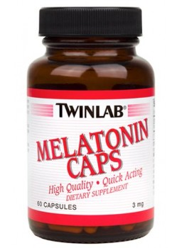 Twinlab Melatonin 3 mg.