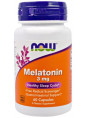 NOW Melatonin 3 mg 60 капс.