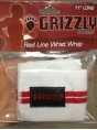 Grizzly Red Line Wrist Wrap пара