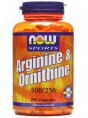 NOW Arginine-Ornithine