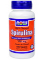 NOW Spirulina 500 mg.