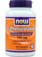 NOW L-Phenylalanine 500 мг  120 капс.