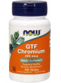NOW GTF Chromium 200 мкг  100 таб.