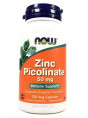 NOW Zinc Picolinate 50mg  120 капс.