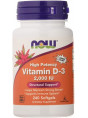 NOW Vitamin D-3 2000  240 гел.капс